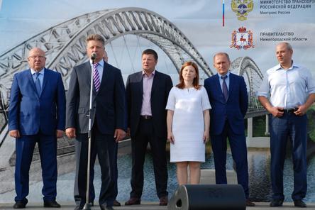 Министр транспорта РФ вручил правительственные награды нижегородским дорожникам (ФОТО)